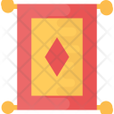 Scroll Chinese Banner Icon