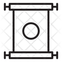 Chinese Scroll Scroll Paper Icon