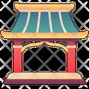 Chinese Shrine Icon