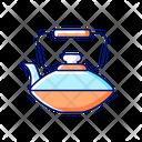 Chinese Iron Teapot Icon