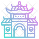 Temple Chinese Building Icon