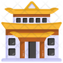 Chinese Landmark Chinese Building Pagoda Temple Icon