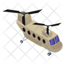Military Chopper Army Helicopter Army Transport Icon