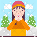 Chionophobia Fear Of Snow Icon