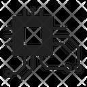 Chip Microchip Cpu Icon