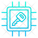 Chip Secure Processor Secure Device Icon