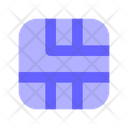 Chip Card Circuit Icon