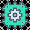 Artificial Intelligence Processor Icon