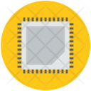 Chip Computer Integrated Icon
