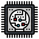 Processor Data Ai Icon