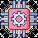 Chip Micro Chip Processor Chip Icon