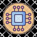 Chip Processor Chip Computer Icon