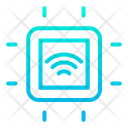 Smart Microchip Smart Chip Automation Icon