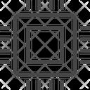 Chip Micro Chip Icon