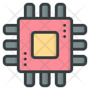 Chip Technology Artificial Intelligence Icon