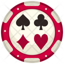 Chip Casino Chip Poker Chip Icon