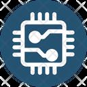 Chip Circuit Microprocessor Icon