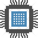 Chip Electric Microchip Icon