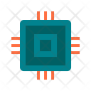 Chip Components Circuit Icon