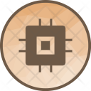Chip Circuit Hardware Icon
