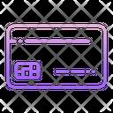 Chip Card Debit Card Icon