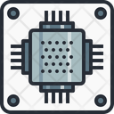 Chip Circuit Ic Icon