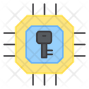 Chip Encryption Icon