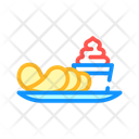 Chips Spicy Sauce Icon