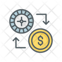 Chips Exchange Icon