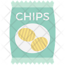 Snack Food Potato Chips Potato Crisps Icon