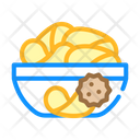 Chips Snack Chips Snack Icon