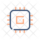Chipset Processor Microcontroller Icon