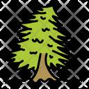 Chirstmas Tree Tree Green Icon