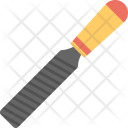 Wide Chisel Carving Icon