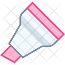 Chisel tip marker Icon