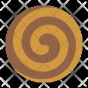 Choclate pinwheel cookies Icon