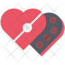 Chocolate Candy Love Icon