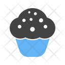 Chocolate Cupcake Sweet Icon