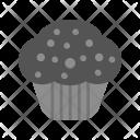 Chocolate Cupcake Sweet Icon