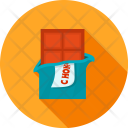 Chocolate Bar Candy Icon