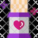 Chocolate Valentine Gift Sweet Icon