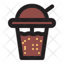Chocolate Drink Buble Icon