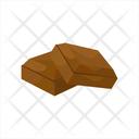 Chocolate Chocolate Slice Love Icon