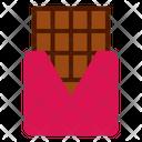 Chocolate Bar Sweets Icon