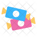 Pair Sweets Candies Icon