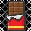 Chocolate Bar Dark Icon