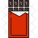 Chocolate Bar Wrapped Icon