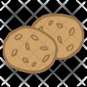Chocolate Cookies Dessert Icon