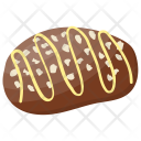 Chocolate Baked Cookie Icon