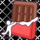 Chocolate Sweet Chocolate Bar Icon